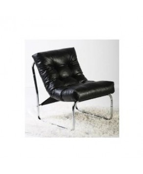 Home Deco - Chair Black Padded - (AC00260BL)
